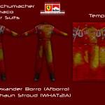 Schumacher Ferrari Monaco Driver Suit
