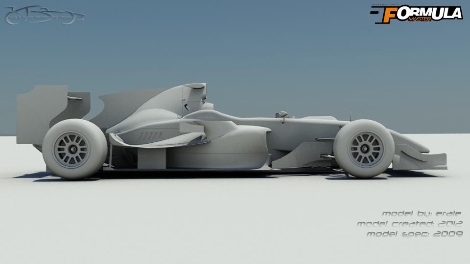 International Formula Master 2009 - Model from 2012
